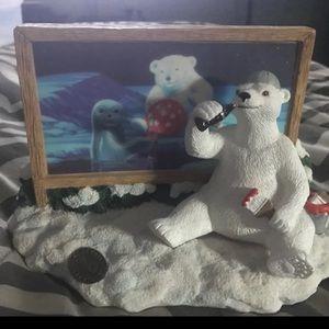 Coca Cola bear collectible